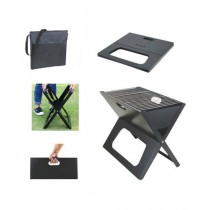 2Kan Folding BBQ Grill Black