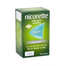 Nicorette Freshmint Gum Nicotine 2mg - 105 pieces