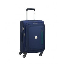 "Delsey Oural 4W 21"" Trolley Cabin Small Navy Blue (352880102)"