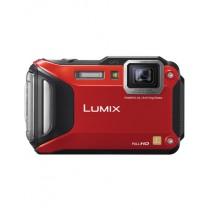 Panasonic Lumix DMC-TS6 Digital Camera Red