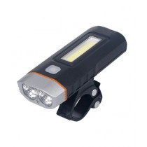 Ferozi Traders Rechargeable Waterproof LED Bicycle Light