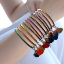AAA Collections Handmade Bangles Set Multicolor