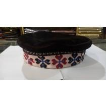 Gilgit Bazar Traditional Ladies Hand Made Cap (GB528)
