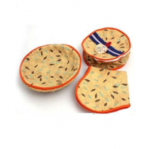 Shopya 3 Piece Roti Basket Multi Designs