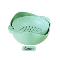 HR Traders Strainer Food Basket Green