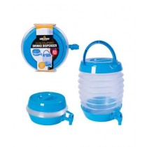 HR Traders Collapsible Drink Dispenser 3.5 Liters Blue