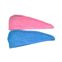 B & B Collectionss Hair Dryer Cap Towel Multicolor