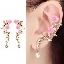 Luxurify Flower Earrings For Women