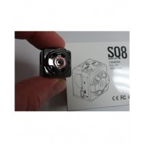 Muzamil Store 1080P Hidden Mini Night Vision Camera (SQ8)