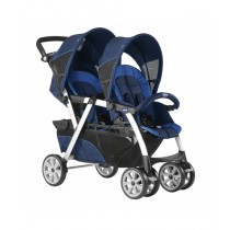 Chicco Together Twin Stroller Blue