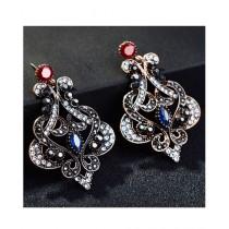 A.M Crystal Earrings For Women (0026)