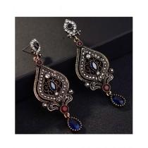 A.M Crystal Earrings For Women (0027)