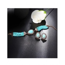 A.M Stylish Bracelet & Earrings For Women (0008)