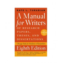 A Manual for Writers Book