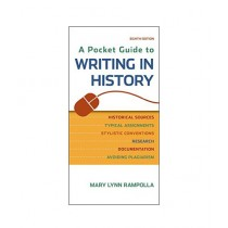 A Pocket Guide to Writing in History Book 8th Edition