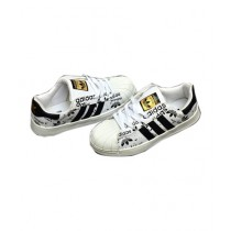 A & S Men's Casual Shoes For Men White (0013)