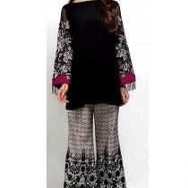 A.A Clothes Embroidered Linen Dress For Women 2 Piece (D-21194)