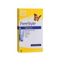 Abott Freestyle Optium Strips 50 Pcs