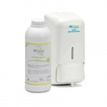 HiClean Foam Sanitizer 800ml + Refill 1000ml Lemon (Pack Of 2)