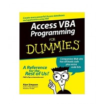 Access VBA Programming For Dummies Book 1st Edition