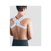 Afreeto Adjustable Posture Corrector Belt Blue (0096)
