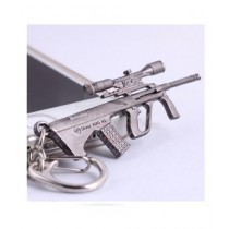 Afreeto Crossfire Game Metal Key Chains Silver
