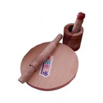 Afreeto Mini Kitchen Wooden Set Toy For Kids