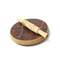 Afreeto Mini Rolling Pin And Board Wooden Toy For Kids