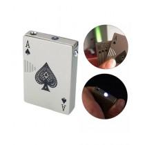 Afreeto Playing Cards Metal Cigarette Lighter