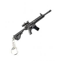 Afreeto PUBG Rifle Metal Keychain (M-416)