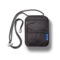 Carlton Security Travel Neck Pouch Gray