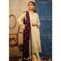 Aj Dukan Embroidered Cotton Collection 3 Piece (0165)