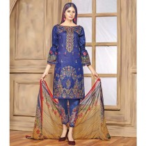 Aj Dukan Embroidered Lawn Collection 3 Piece (0072)