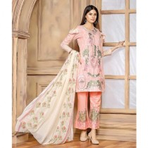 Aj Dukan Embroidered Lawn Collection 3 Piece (0073)