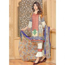 Aj Dukan Embroidered Lawn Collection 3 Piece (0077)
