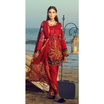 Aj Dukan Embroidered Lawn Collection 3 Piece (0081)