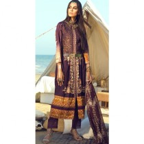 Aj Dukan Embroidered Lawn Collection 3 Piece (0083)