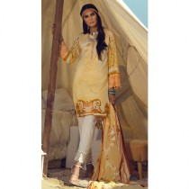 Aj Dukan Embroidered Lawn Collection 3 Piece (0084)