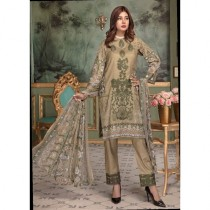 Aj Dukan Embroidered Swiss Lawn Collection 2019 3 Piece (0063)
