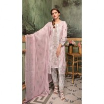 Aj Dukan Embroidered Swiss Lawn Collection 2019 3 Piece (0067)