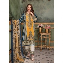 Aj Dukan Embroidered Swiss Lawn Collection 2019 3 Piece (0068)
