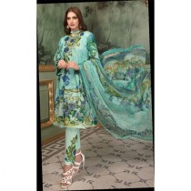 Aj Dukan Embroidered Swiss Lawn Collection 2019 3 Piece (0070)