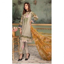 Aj Dukan Embroidered Swiss Lawn Collection 2019 3 Piece (0071)