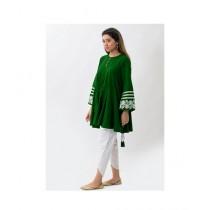 Aj Dukan Independence Day Kurti For Women Green