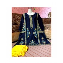 Aj Dukan Lawn Embroidered Shirt For Women (0097)