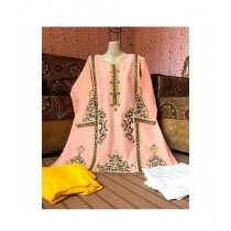 Aj Dukan Lawn Embroidered Shirt For Women (0098)