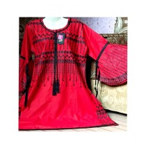 Aj Dukan Pearl Embroidered Shirt For Women (0103)