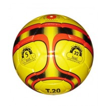 M Toys Hand Stitched Football Yellow (1120)