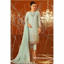 Al Karam Festive Collection 2020 3 Piece (FC-10D-20-Blue)