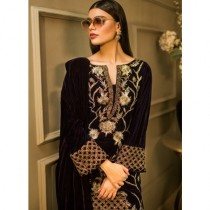 Aamna Aqeel A Velvet Romance Limited Edition Winter Collection 3 Piece (AQVL-3)